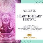 2 september Heart to Heart Yoga Festival in het Heart House