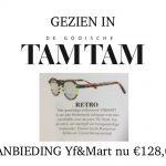 AANBIEDING: Prachtige Yf&Mart monturen tijdelijk voor € 128,-